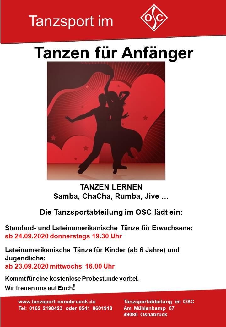 Plakat Anfängergruppe_09_2020